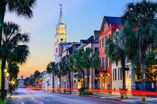 photo of Charleston SC downtown