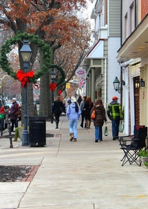 downtown Haddonfield NJ
